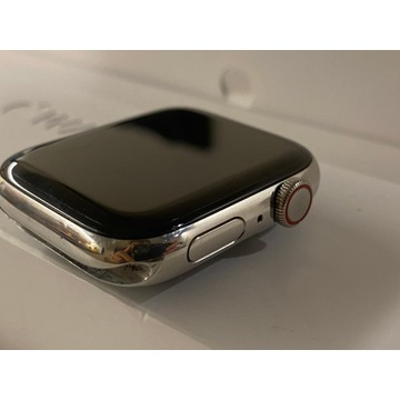 Watch Series 4 44mm Stainless Steel LTE GW iSpot