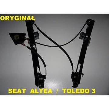 SEAT TOLEDO 3 ALTEA XL PODNOŚNIK SZYBY PRZÓD LEWY