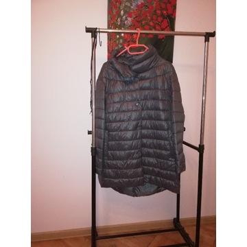 Płaszczyk kurtka lekko ocieplany kolor grafitowy