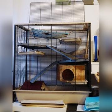 Klatka dla szczura FRODO - 53% TANIEJ + DODATKI