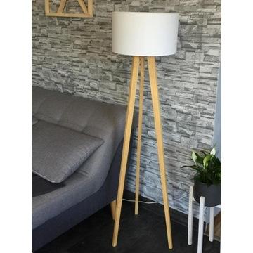 DREWNIANE Nogi do lampy typu TROJNÓG, tripod
