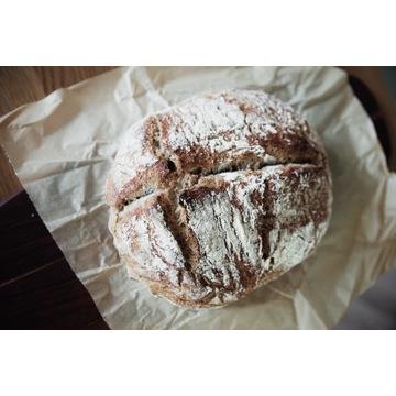 Chleb wiejski pełnoziarnisty na zakwasie