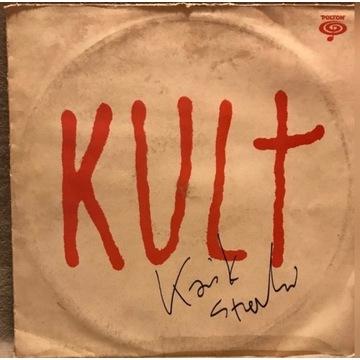 Płyta winylowa-KULT z autografem
