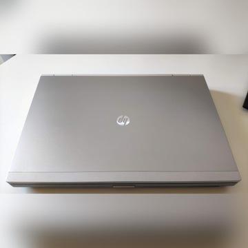 HP EliteBook 8460p / 256GB Samsung / Stacja dok