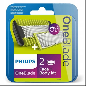 Philips OneBlade body + face 2 szt