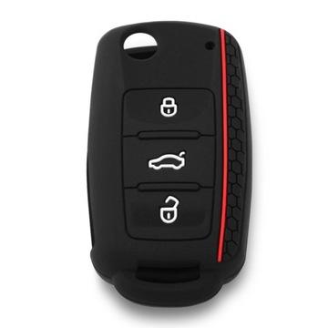 Etui silikonowe na kluczyk VW, SKODA