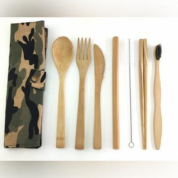 Sztućce bambusowe   EKO