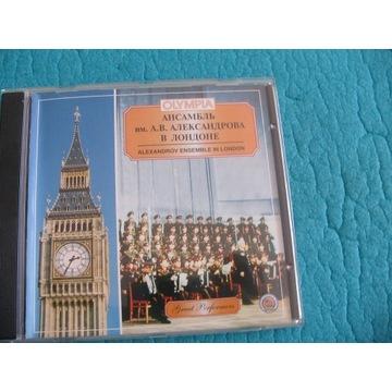 Chór Aleksandrowa, Live in London
