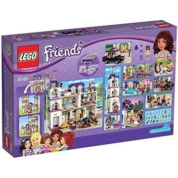 Grand Hotel w Heart Lake Klocki LEGO Duży zestaw.