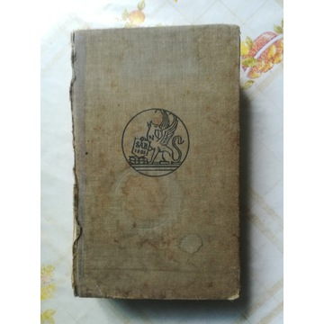 Stary słownik niemiecki obrazkowy