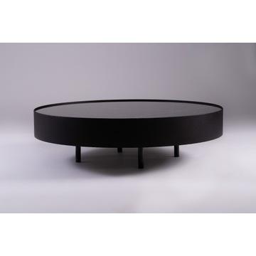Duży stół kawowy, marmur naturalny - średnica 110