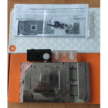 Blok do chłodzenia wodnego EK-FC680 GTX DCII