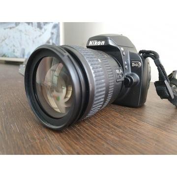 Nikon D40 + 3 obiektywy Nikkor, torba i inne