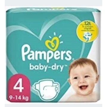 Pampers Baby dry 4  Niemiecki produkt
