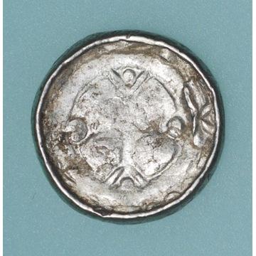 denar krzyżowy X-XI wiek