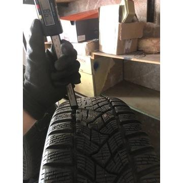 Opony zimowe Dunlop stan jak nowe 4szt z felgami