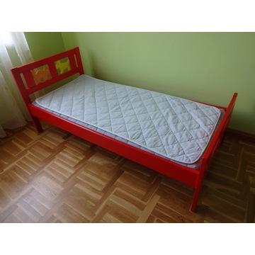 Łóżko Ikea KRITTER 160 x 70 + materac i mata