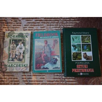 Książki - poradniki: survival, skauting i ZHP