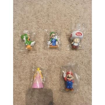 Figurki Super Mario Bros vintage Nintendo