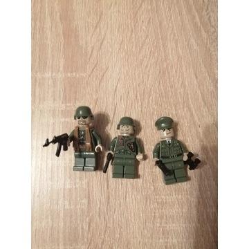 Figurki. Klocki COBI żołnierze