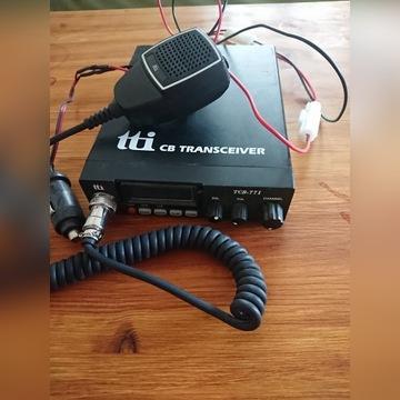 CB Radio Transciver TCB-771  z gruszką