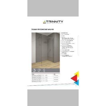 Ściana natryskowa/prysznicowa Trinnity 100x195