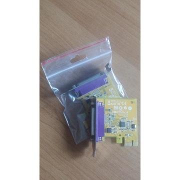 [Niski Profil Adapter LPT IEEE1284] Sunix PAR6408A