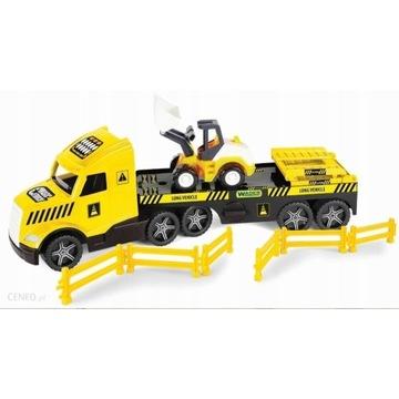 WADER 36430 Magic Truck Technic laweta spychacz