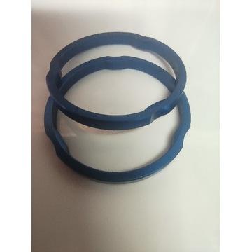 Podkładki pod stery mostek 3mm niebieskie