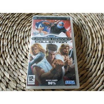Gra Sony PSP - Sega Mega Drive Collection.