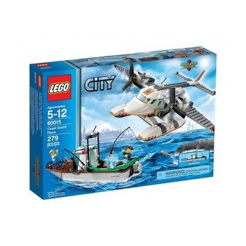 LEGO 60015 City - Samolot straży przybrzeżnej
