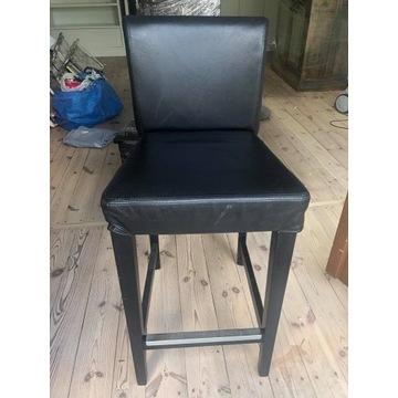 Krzesła barowe IKEA hokery 2 szt.