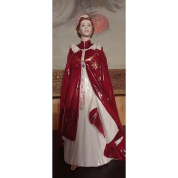 Figurka Royal Worcester Queen Elizabeth ll