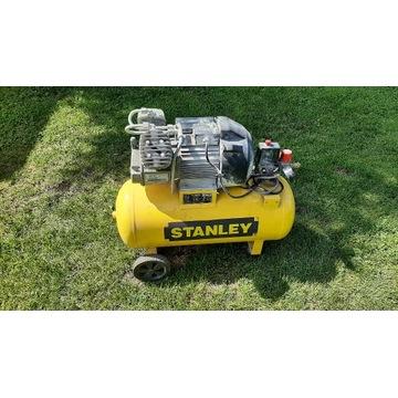 Kompresor olejowy dwutłokowy  Stanley 50L.