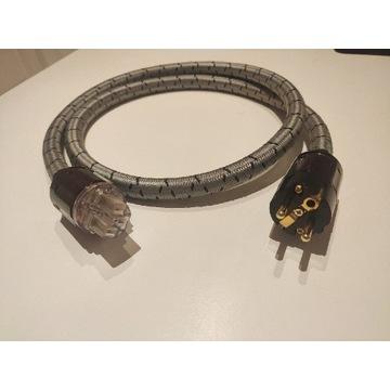 Kabel zasilający na wtyczkach Oyaide
