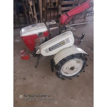 Traktorek jednoosiowy  HONDA 800 + Pług obrotowy