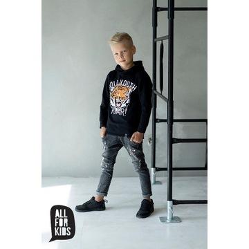 Jeansowe spodnie  All for kids rozmiar 104/110