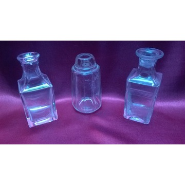 Kolekcja Flakoniki  do perfum vintage