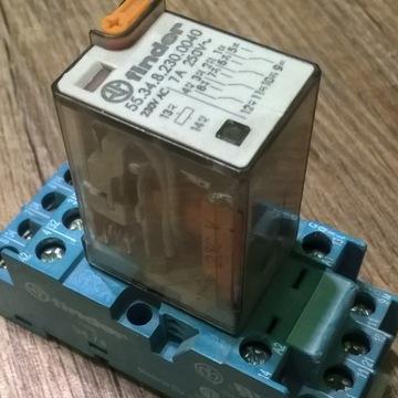 Gniazdo Finder Przekaźnik + Podstawka 230V 7A
