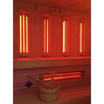 Promienniki kwarcowe IR do sauny Dr.Fischer zestaw