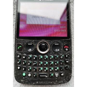 Sony Ericsson CK 13i klawiatura quwerty działa.