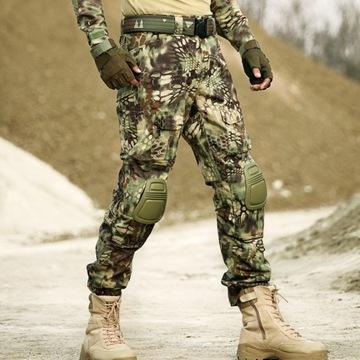 Spodnie taktyczne kamuflarz