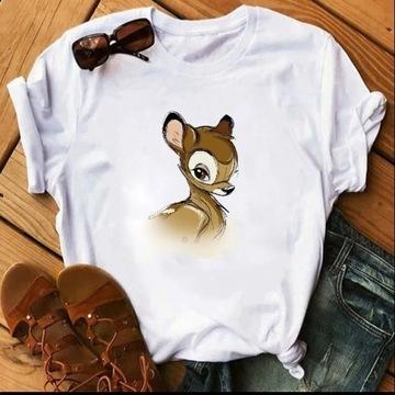 Koszulka t-shirt Disney postacie Bambi S-XXL lato