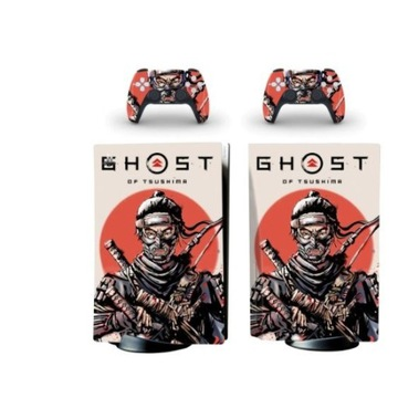 skin naklejka skórka Playstation 5 Bluray ghost of