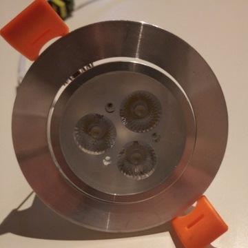 Oprawa sufitowa 10szt. , halogen LED 3W