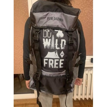 Plecak turystyczny 'be wild and free', 60 L
