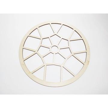 Obręcz drewniana, koło 30cm, Grube 4mm