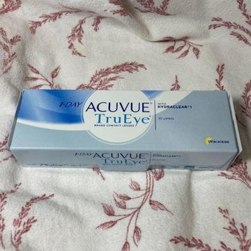 Jednodniowe soczewki kontaktowe Acuvue TruEye -0.5