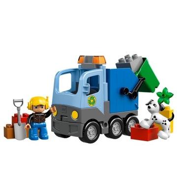 -= LEGO DUPLO 10519 - ŚMIECIARKA =-
