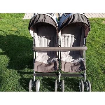 wózek - spacerówka  dziecięca dla blizniakow